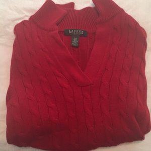 Ralph Lauren Petite red sweater